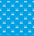 brassiere concept pattern seamless blue vector image vector image