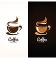 Coffee cup 2 vector image vector image
