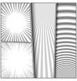 comic monochrome composition vector image vector image