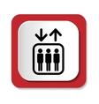Elevators sign vector image vector image