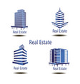 icons for real estate construction i vector image vector image