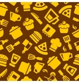 Seamless Kitchen Pattern vector image