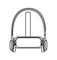 virtual reality headset vr helmet icon virtual vector image
