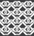 volumetric seamless pattern of intertwined ribbons vector image vector image