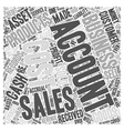 Assets and liabilities Word Cloud Concept vector image vector image