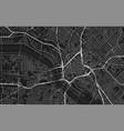 black map dallas vector image