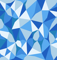 blue abstract polygon background vector image vector image