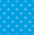 design 3d printing pattern seamless blue vector image vector image