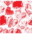 heart grunge seamless 380 vector image vector image