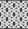 seamless pattern of intertwined ribbons vector image vector image