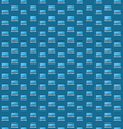 Smart laptop icon pattern vector image