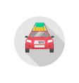 taxi icon sign symbol vector image vector image