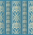 wallpaper in style baroque vintage vector image vector image