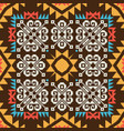 abstract ornamental pattern vector image vector image