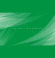 abstract white curve overlap on green vector image vector image