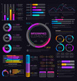 business infographic elements info charts vector image