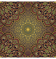 Gold pattern of mandalas vector image vector image