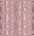 metallic rose goldpolka dots pattern seamless vector image vector image