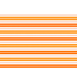 Orange White Stripes Background vector image vector image