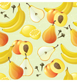 yellow fruits seamless vector image