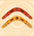 boomerangs vector image vector image
