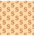 Dollar seamless pattern vector image vector image