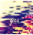 glitch effect background