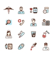 Health care icons vector image vector image