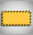 industrial warning sign vector image
