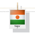 photo of niger flag vector image