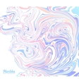 Pink and blue trendy colors marble abstract vector image