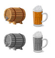 pub and bar icon vector image vector image