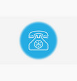 telephone icon sign symbol vector image