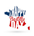 14th july bastille day background vector image vector image