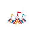 circus element design vector image