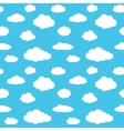 Clouds Seamless Pattern Background vector image vector image