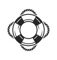 life preserver ring icon vector image
