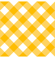 Tablecloth Pattern Yellow vector image vector image