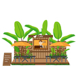 Coffee Shop outdoor vector image