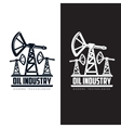 set of logos with oil vector image