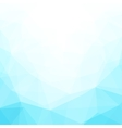 Blue bright abstract background vector image vector image