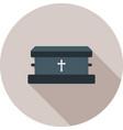 coffin ii vector image vector image