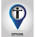 options icon vector image vector image