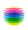 Rainbow sphere vector