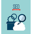 searching engine optimization vector image