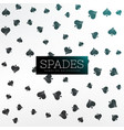 spades background playing cards vector image vector image
