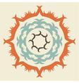 Swirl Emblem vector image vector image
