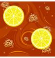 tea with lemon vector image