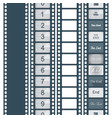 timer countdown cinema isolated from vector image