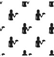 the waitressprofessions single icon in black vector image